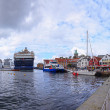 Stock Photo: Port of Stavanger, Norway.