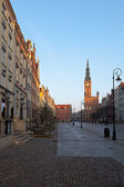 Old town in Gdansk — Stock Photo