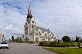 Domkirken in Stavanger city — Stock Photo