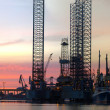 Royalty-Free Stock Photo: Oil Platform