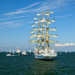 Sailing ships in the Baltic — Stock Photo
