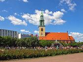 ベルリンで教会 — ストック写真