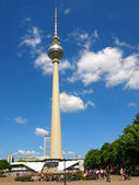 The Television Tower — Stock Photo