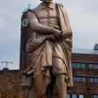 The statue of Rembrandt in Amsterdam — Stock Photo