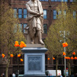 Statue of Rembrandt in Amsterdam — Stock Photo #10668776