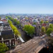 Amsterdam panorama, Holland, Netherlands - Stockfoto
