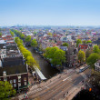 Amsterdam panorama, Holland, Netherlands - Stock Photo