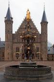 宾内堆夫宫-在海牙的荷兰 parlament — 图库照片