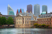 Binnenhof Palace - Dutch Parlament in the Hague — Stock Photo