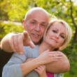 Adult happy couple together — Stock Photo
