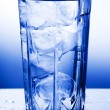 A glass of clean water — Stock Photo