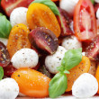 Tomato and mozzarella salad — Stock Photo #10556726