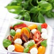 Tomato and mozzarella salad — Stock Photo #10556780