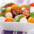 Tomato and mozzarella salad — Stock Photo #10556792