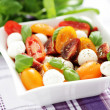 Tomato and mozzarella salad — Stock Photo #10556812