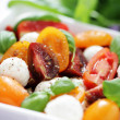 Tomato and mozzarella salad — Stock Photo #10556820