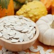Seeds of pumpkin — Stock Photo
