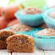 Royalty-Free Stock Photo: Carrot muffins