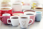Lotes de café! — Foto de Stock