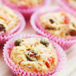 Muffins with green olives — Stock Photo #9237327