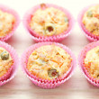 Muffins with green olives — Stock Photo #9237373