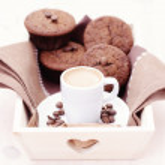 Espresso muffins — Stock Photo #9781995