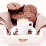 Espresso-muffins — Stockfoto #9781995