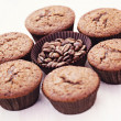 Espresso muffins — Stock Photo