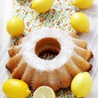 Lemon pound cake — Stock Photo #9824357