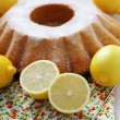 Lemon pound cake — Stock Photo #9824374