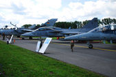 国際航空デモ航空ショー — ストック写真