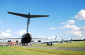 International Air Demonstrations AIR SHOW — Stock Photo