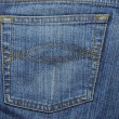 Texture of jeans — Stock Photo #9832677