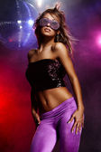 Disco girl — Stockfoto