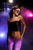 Disco girl — Foto Stock