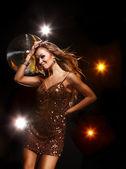Disko kız — Stok fotoğraf