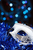 The Venetian mask on a abstract background — Stock Photo