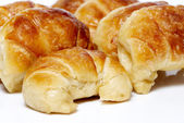 Croissant on a light background — Stock Photo