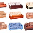 Various sofas - Stock Photo