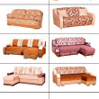 Various sofas — Stock Photo
