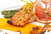 Tasty red fish — Stock Photo
