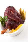 Roast chicken — Stok fotoğraf