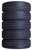 New tyres — Stock Photo