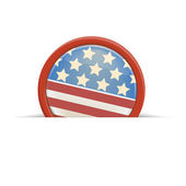 Badge for July 4 — Stock Vector