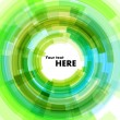 Green background in form of circle — Vecteur #10540077