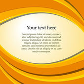 Text on a colored background — Vettoriale Stock