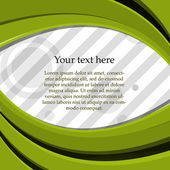Text på en färgad bakgrund — Stockvektor
