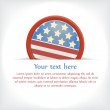 Badge for July 4 — Vector de stock #10576431