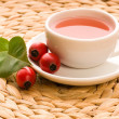 Rose hip tea - Stock Photo