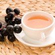 Black chokeberry tea - Stock Photo